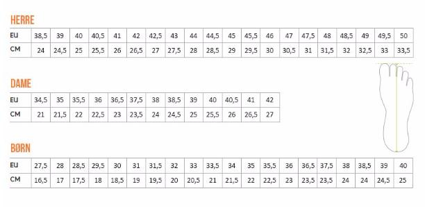 6959c5bcd27 Brug evt. denne vejledende størrelsesguide: