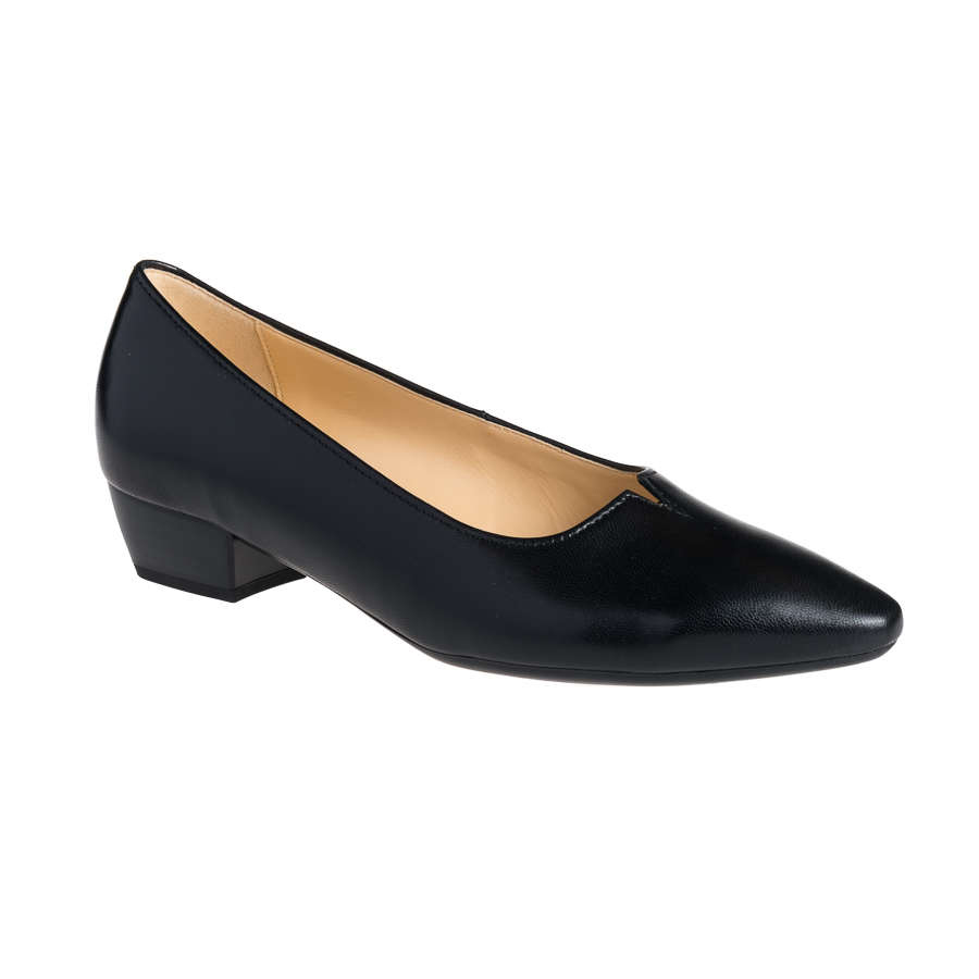 822fd31e0177 Sort Gabor pumps hæl 3 cm - By Hein Shoes - Fragtfri levering