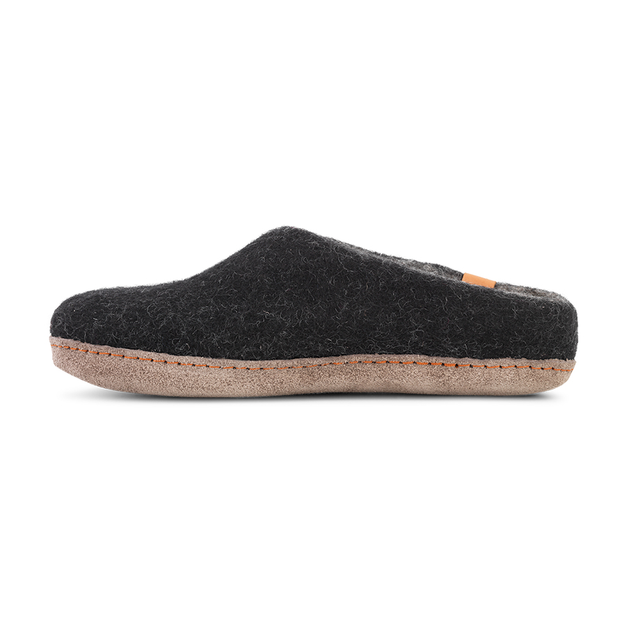 4c6c53985a6 Green Comfort sort dame og herre uldslippers - 12281_BLA_GRY_c - By ...
