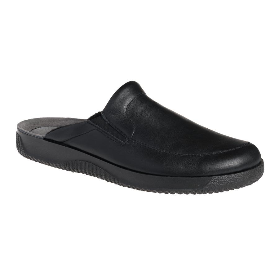 e971a47e7ab5 Rohde herre hjemmesko sort skind 2776 - By Hein Shoes - Fri levering