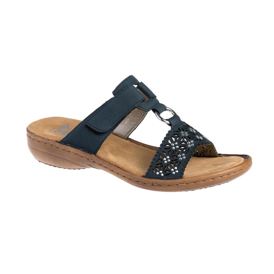 rieker blå sandaler
