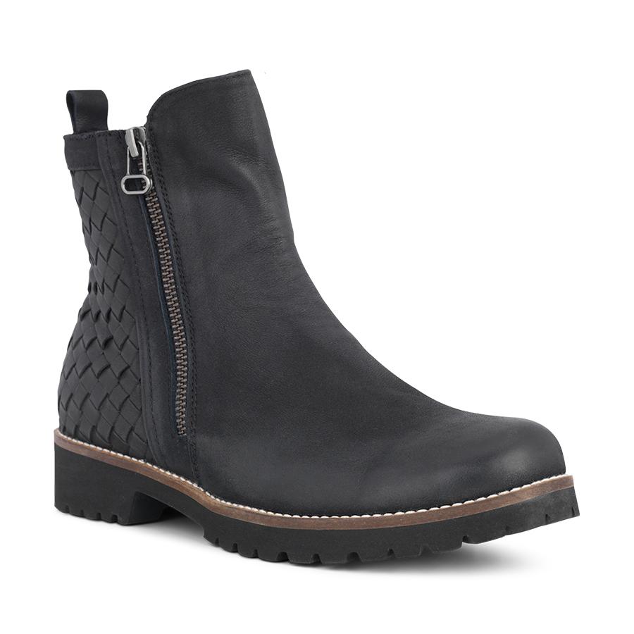fc007228085f Sort skindstøvle fra Green Komfort til damer 17232 - By Hein Shoes