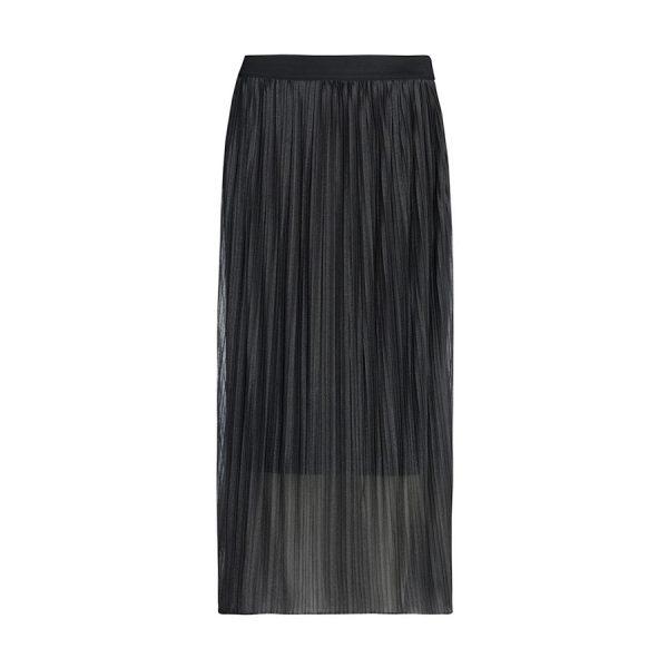 One Two Elfrida Skirt i farven rock gray.