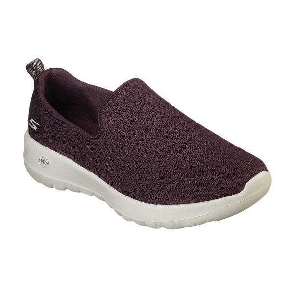 Skechers You Walk Joy – lækker bordeauxfarvet loafer.