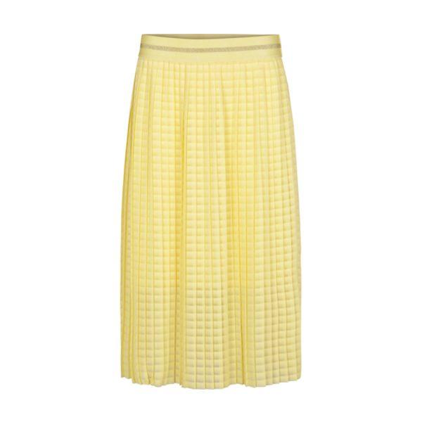 Smuk gul Second Female Marille Skirt.