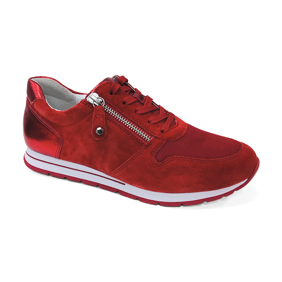 f0bfe1cc Rød Gabor sneakers i Mesh/Velour 26.364.48 - By Hein Shoes