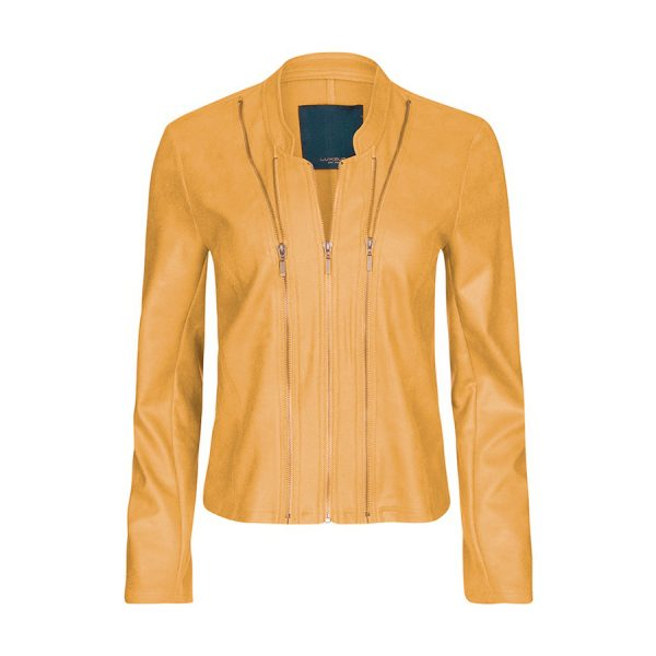 One Two Athena Swede Coated Jacket.