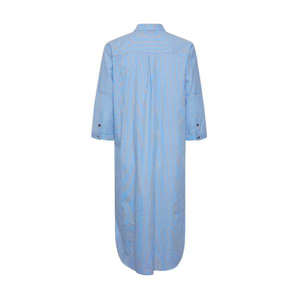Culture Cusarsa Shirt Dress - skøn kjole med striber i en lys blå farve.