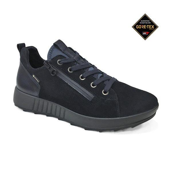 Lækker Legero Essence skindsneaker i en Pacific blå farve.