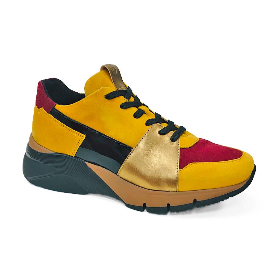 Mustard farvet støvle Tamaris