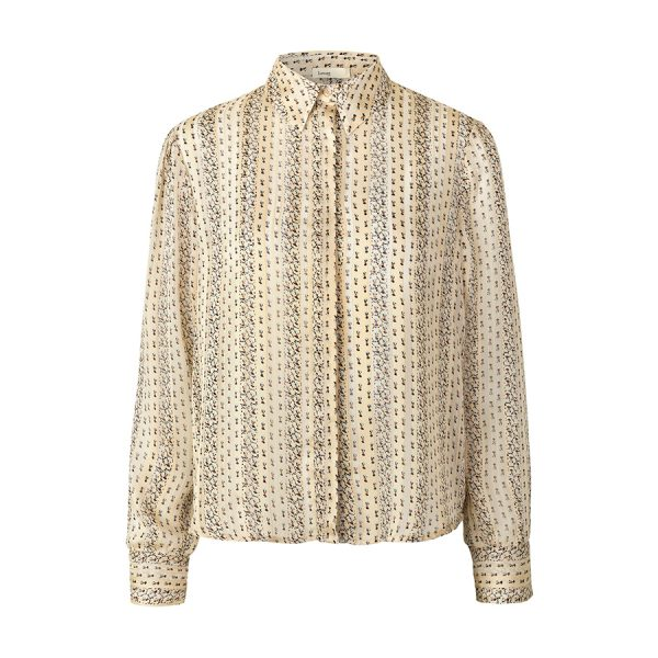 Skjorte fra Levete Room Hazel 400120-L802C med fint mønster.