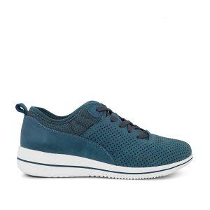 Green Comfort Leaf 225013Q30, meget let sneaker i en flot blå farve.