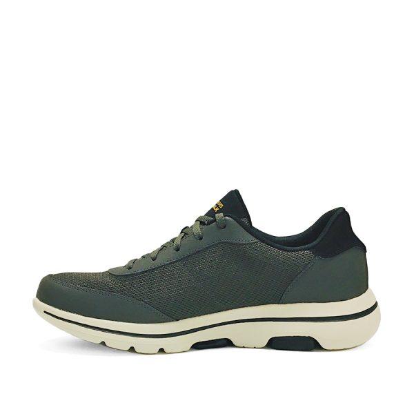Herre, snøre-sneaker - Skechers 216012OLV Go Walk 5 Forging.