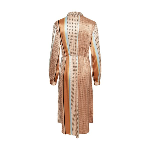 Culture CUfiluka Shirt Dress 50107490-171134 Brown Sugar