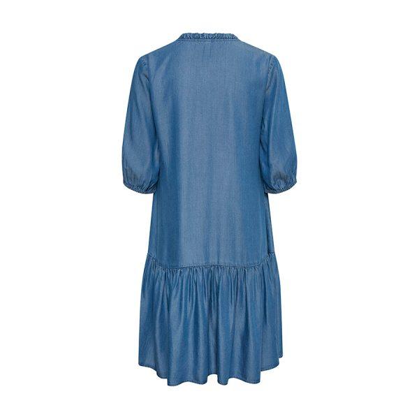 Culture CUmindy Dress 50107542-500029 Dark Blue Wash