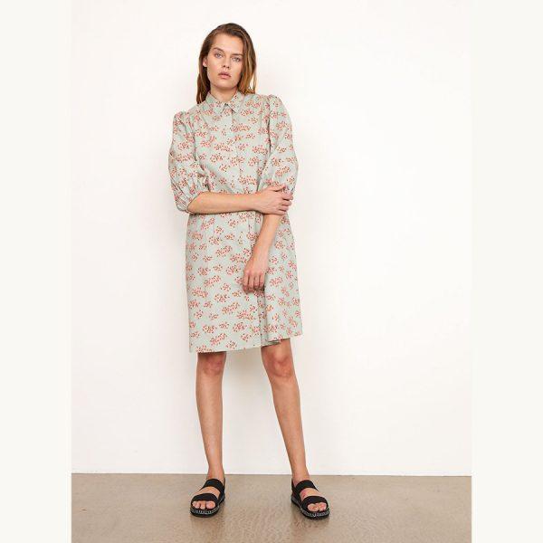 Second Female Delhi Shirt Dress 54840-4066 Desert Sage