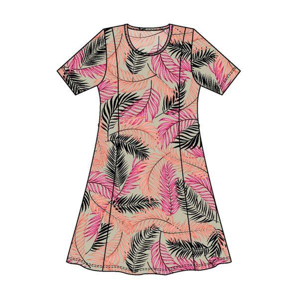 Signature kjole 211438-7015 Peach